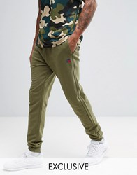 Russell Athletic Joggers In Skinny Fit Green