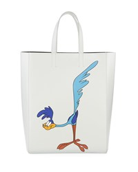 Calvin Klein 205W39nyc Looney Tunes Road Runner Soft Tote Bag Blue White