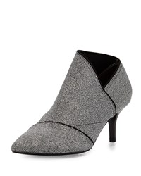 Adrianna Papell Heather Pointed Toe Elastic Bootie Gunmetal Grey