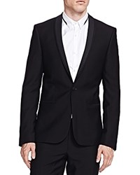 The Kooples Slim Fit Dinner Jacket Black