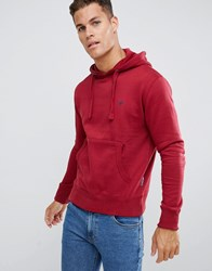 French Connection Basic Overhead Hoodie With Logo Brown