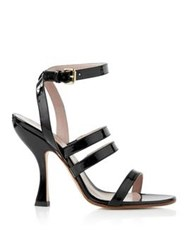 Vivienne Westwood Olly Strappy Sandals Black