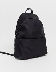 Matt And Nat Nylon Backpack In Black