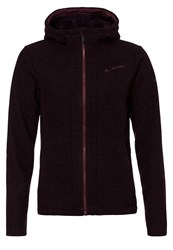 Vaude Tinshan Fleece Raisin Dark Red
