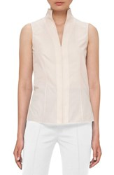 Akris Women's Stretch Poplin Blouse