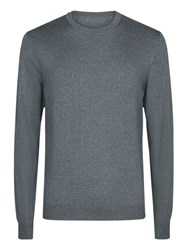Aquascutum London Rolfe Crew Jumper Grey