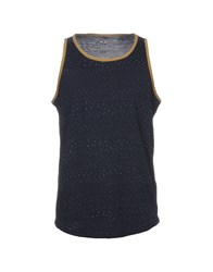 Oakley Tank Tops Dark Blue