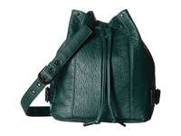 Rvca Vision Bucket Bag Pine Satchel Handbags Green
