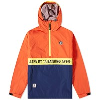 Aape By A Bathing Ape Camo Smock Jacket Red