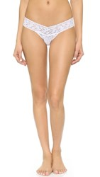 Hanky Panky Signature Lace Low Rise Thong White