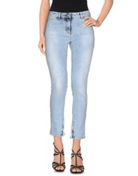 Golden Goose Denim Denim Trousers Women Blue