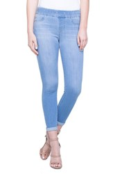 Liverpool Jeans Company Zoe Pull On Rolled Cuff Crop Jeans Normandy Light