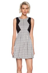 Minty Meets Munt Legacy Dress Black And White