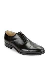 Kenneth Cole Reaction Whip Lash Leather Oxfords Black