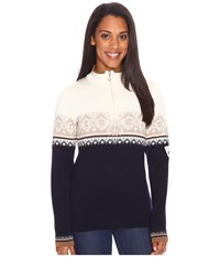 Dale Of Norway St. Moritz Feminine Navy Beige Women's Sweater