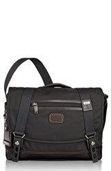 Tumi Men's 'Alpha Bravo Foster' Messenger Bag Black Hickory