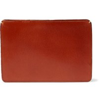 Il Bussetto Polished Leather Cardholder Tan