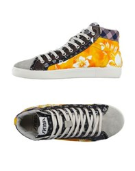 Springa Footwear High Tops And Trainers Men Orange
