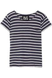 Nlst Striped Cotton Jersey T Shirt