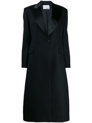 Each X Other Fitted Tuxedo Coat Black