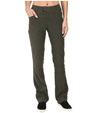 Royal Robbins Herringbone Discovery Strider Bootcut Pants Dark Olive Women's Casual Pants