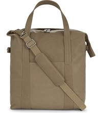 Maison Martin Margiela Leather Holdall Beige