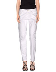Nolita Denim Denim Trousers Women White