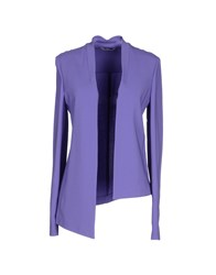 Alysi Suits And Jackets Blazers Women Purple