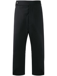 Odeur Dropped Crotch Cropped Trousers 60