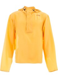 Wales Bonner Lightweight Hooded Jacket Yellow And Orange