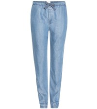 Closed Easy Trousers Blue