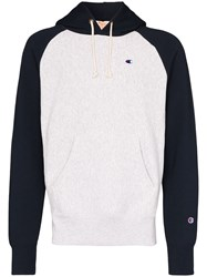 Champion Two Tone Cotton Blend Hoodie 60