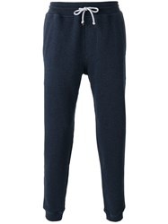 Brunello Cucinelli Drawstring Tapered Track Pants Blue