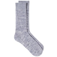 Universal Works Marl Sock Grey