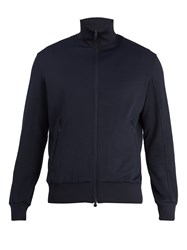 Y 3 Zip Through Track Jacket Navy