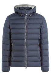 Colmar Quilted Down Jacket With Hood Blue