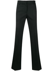 Dondup Flared Tailored Trousers Black