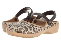 Crocs Karin Graphic Clog Leopard Women's Clog Mule Shoes Animal Print