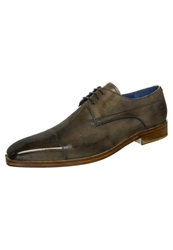 Melvin And Hamilton Lewis 8 Laceups Crust Light Grey