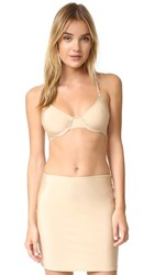 Only Hearts Club Second Skins Racer Back Bra Nude