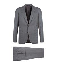 Paul Smith Wool Travel Suit Navy