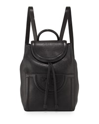 Serif T Leather Backpack Black Tory Burch