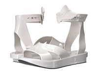 Vivienne Westwood Anglomania Melissa Rocking Horse Sandal Ivory Women's Sandals White