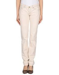 Dandg D And G Denim Pants Beige