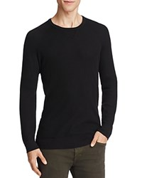 Splendid Mills Thermal Crewneck Long Sleeve Tee Black