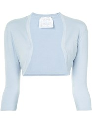 Oscar De La Renta Knit Sweater Blue