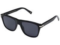 Marc Jacobs 185 S Black With Gray Blue Lens
