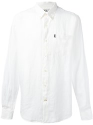 Barbour Button Down Frank Shirt White