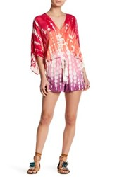 Young Fabulous And Broke Ashley Romper Multi