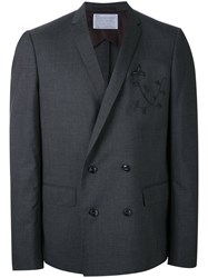 Kolor Embroidered Two Piece Suit Grey